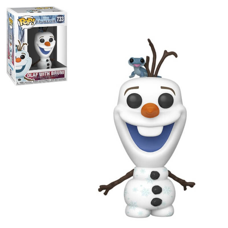 POP Frozen 2 Olaf with Bruni