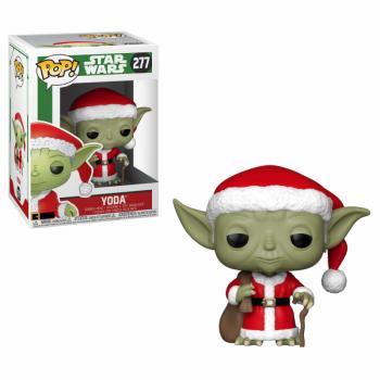 POP Star Wars Holiday Santa Yoda