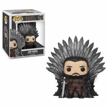 POP Deluxe GOT S10 Jon Snow Sitting on Iron Throne