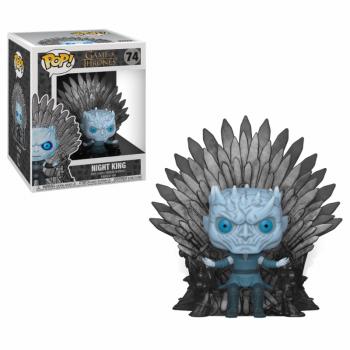 POP Deluxe GOT S10 Night King Sitting on Throne