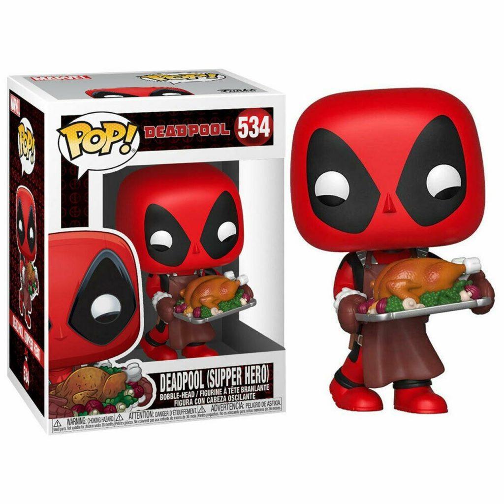 POP Marvel Holiday Deadpool