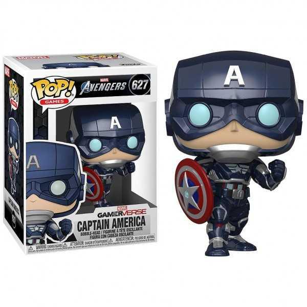 POP Avengers Game Captain America StarkTech Suit