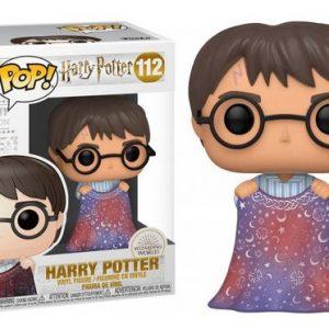 POP Harry Potter avec sa cape d'invisibilité